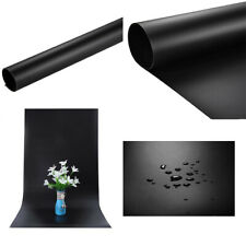 BLACK Vinyl Backdrop 60 x 130cm | Product Photo Studio Seamless Background Pro