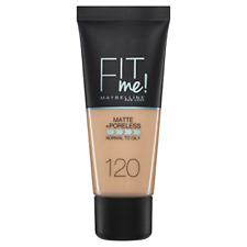 Maybelline Fit Me Matte Poreless Foundation 120 Classic Ivory 30ml