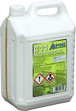 Alpine Kühlerfrostschutz C11 5 Liter (2,76€/L) Kühlerschutzmittel G11 gelb 5L