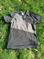 Roots 73 Athletic Womens Work Out Exercise Black Top/Shirt Large