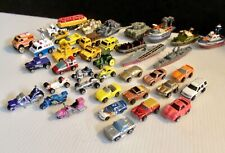 Vintage Micro Machine & Other Vehicles,Cars Trucks, Emergency 39+ Pieces