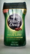 Nescafe Tasters Choice 100 Pure Instant Coffee Decaf 10 oz  FREE SHIPPING