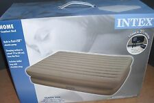 NEW Queen Raised Air Bed Mattress with pump - 66703E AIRBED with wired remote