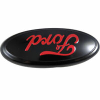 For  F-150 2004 - 2014  red oval front grille or rear tailgate 9 inch emblem
