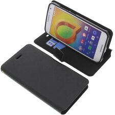 Custodia per Alcatel A3 Book-Style Protettiva Cellulare A Libro Nero