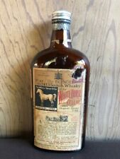The Blended Scotch Whisky The White Horse Cellar Vintage Bottle Empty