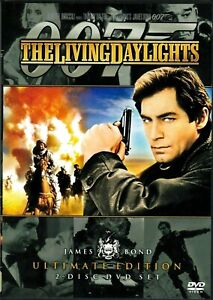 007 : The Living Day Lights : 2 Disc : NEW DVD