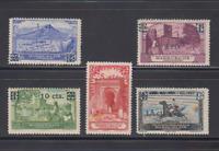 MARRUECOS (1936) MNH NUEVOS SIN FIJASELLOS - SPAIN - EDIFIL 162/66 - ESPAÑA