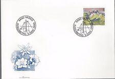 1990 Liechtenstein FDC Flowers 2