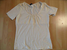 S.OLIVER selection chices Shirt creme Gr. 40 ZC216