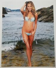 Chrissy Teigen Signed Sexy 8x10 Photo Sports Illustrated Swimsuit Model RAD