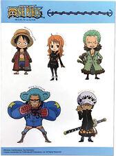 One Piece Group Sd Sticker Set Anime Manga New