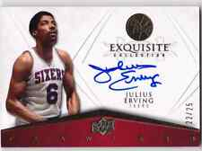 2008-09 Exquisite JULIUS ERVING Auto Flawless Signatures Card #d 25 76ers