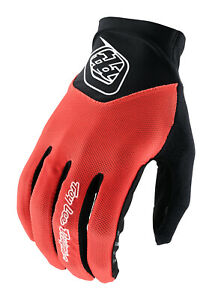 Troy Lee Designs Mens Ace 2.0 Gloves - Solid Tangerine - MTB Bicycle