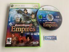 Dynasty Warriors 6 Empires - Microsoft Xbox 360 - PAL FR - Sans Notice
