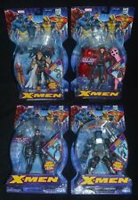 ANGEL, GAMBIT, CYCLOPS & BEAST X-MEN Marvel Classics Toy Biz MIP
