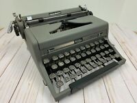Royal Quiet Deluxe Portable Typewriter c1949