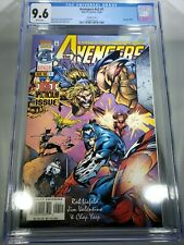 AVENGERS V2 #1 CGC 9.6  Liefeld Yeap Sibal Valentino 1996 CASE 05/2019