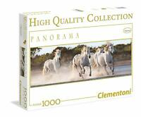 Puzzle Chevaux ; 1000 pièces Clementoni 39371 cheval, running horses