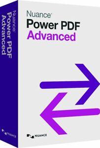 Nuance Power PDF Advanced v 2.1 - Windows