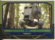 Star Wars Galactic Files Blue Parallel #292 AT-ST