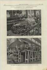 1921 Recent Curtis Rateau Steam Turbines