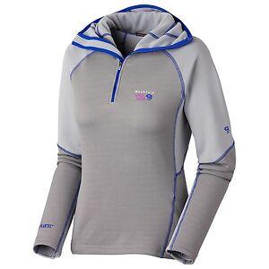$185 Mountain Hardwear Women DESNA Polartec Hooded Fleece Jacket Coat S M L