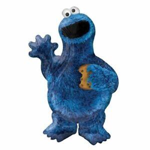 Sesame Street Party Supplies Cookie Monster Foil Balloon (58cm x 88cm)