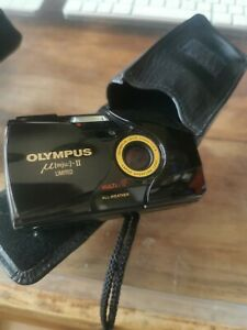 Olympus Mju II Limited Edition 35mm Point And Shoot Camera In Mint Condition