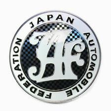 JAF Logo Japan Automobile Federation JDM Car Auto Grille Emblem Badge