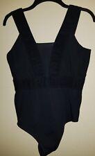 Ivy Park Leotard/Bathing Suit Black Large NWT