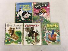 Little Golden Books Classic Characters! Popular Children's Books! Poky Puppy....