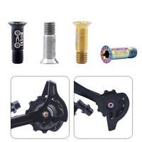PW/_ JT/_ 2Pcs Colourful Bicycle Air Valve Cap Presta Wheel Rim Tyre Stem Dust C