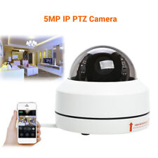 Mini 5MP PTZ HD IP Camera Outdoor Security Dome Camera Network Night Vision IP66