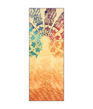 Manduka Yogitoes Yoga Non Slip Skidless Mat Towel - Chakra