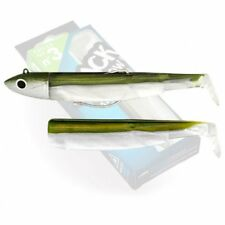 Artificial negro Minnow Fiiish 120mm 25g 10 talla N3 Combo offshore color caqui