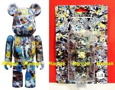 Medicom 2016 Be@rbrick Jackson Pollock Studio 100% Spray Pattern Bearbrick 1pc