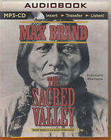 Max Brand The Sacred Valley MP3 CD Audio Book Unabridged Rusty Sabin 3 Western