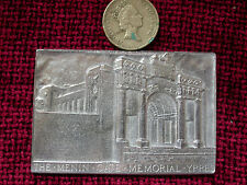 Replica Copy Menin Gate Ypres Plaque moulded from original