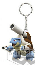 Pokemon 3'' Mega Blastoise 3D Mascot Key Chain Licensed NEW