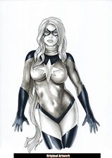 Comics Sexy MS MARVEL Original Art AVENGERS CIVIL WAR INFINITY THANOS WARLOCK