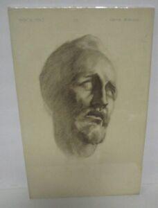 1923 JOHN FLEMING GOULD Original Pencil/Charcoal Sketch