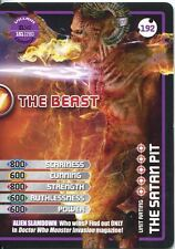 Doctor Who Monster Invasion Extreme Card #192 The Beast