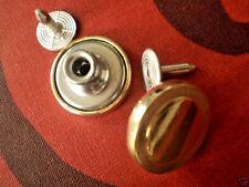 8pc 20mm Crestado de metal oro viejo militar Chaqueta de Abrigo Cárdigan Botón 2823