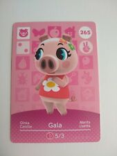 Gala #265 Animal Crossing Amiibo Card Series 3 Nintendo Switch 3DS Wii U New