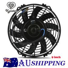 Universal 9inch 12V/80W Slim Fan Push/Pull Electric Radiator Cooling Engine Kit