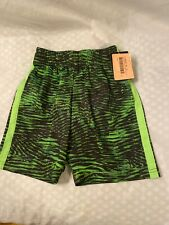 New Boy's Champion Green Lacrosse Athletic Shorts Size Xs 4-5