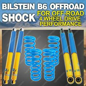 Bilstein Shock Lovells Coil Spring 50mm Suspension Lift Kit for Jeep Wrangler JK