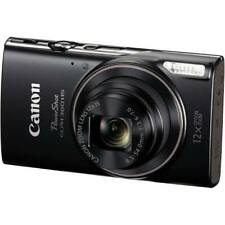 Canon PowerShot ELPH 360 HS Black Digital Camera with 12x Optical Zoom and Wi-Fi