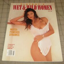 Playboy's WET AND WILD WOMEN (Aug 1993) Special Edition Magazine in VG Condition